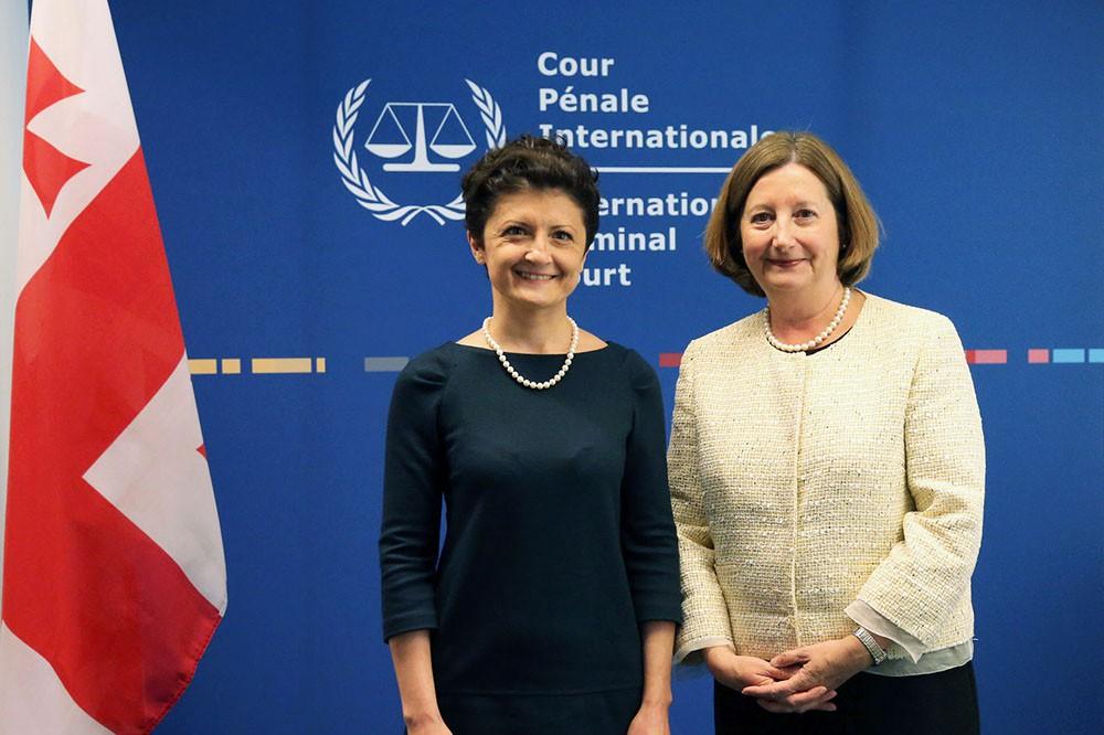 Министр юстиции Грузии в Международном уголовном суде Гааги