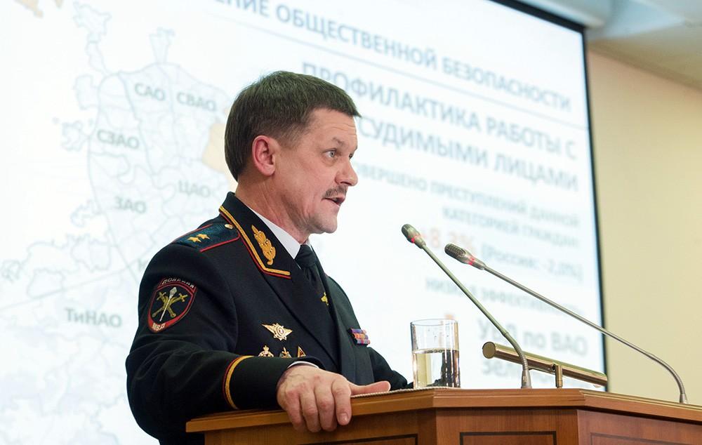 Анатолий Якунин, начальник Главного управления МВД России по г. Москве