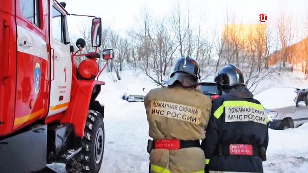 Спасатели МЧС Приморья