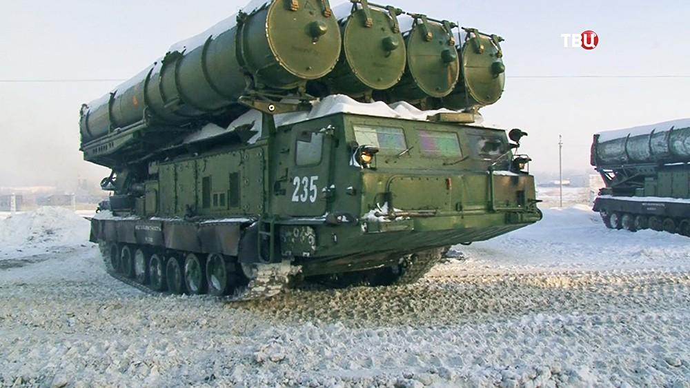Боевая готовность бригад С-300