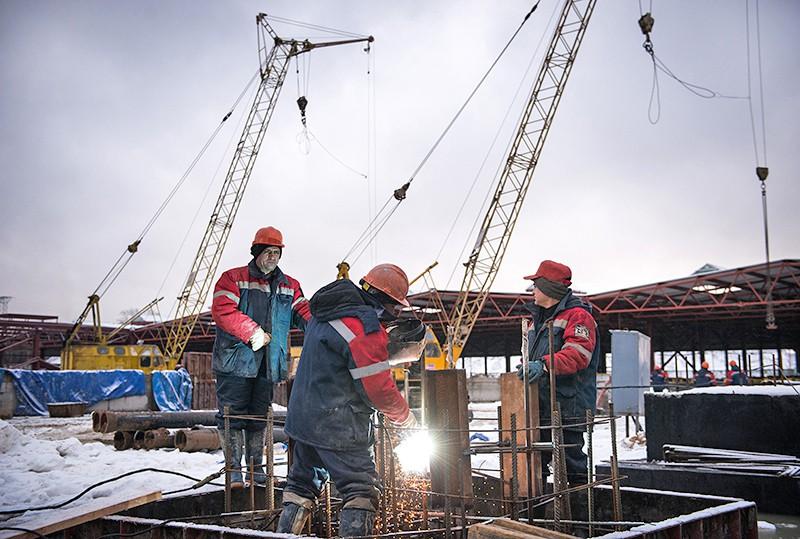 """Строительные работы ремонтного корпуса депо """"Лихоборы"""""""