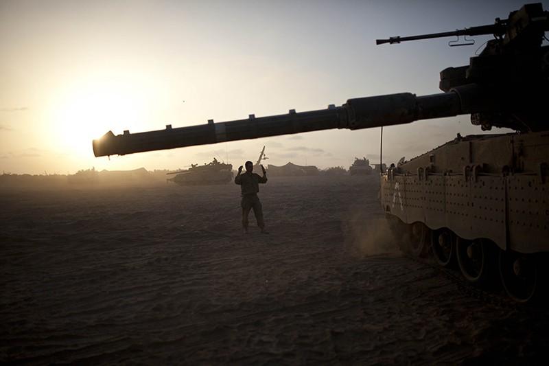 Танковое подразделение турецкой армии