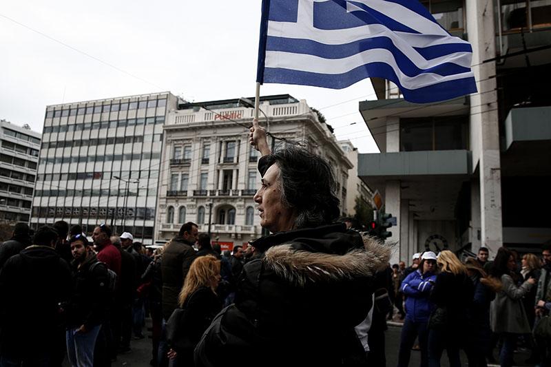 Митигующие в Афинах