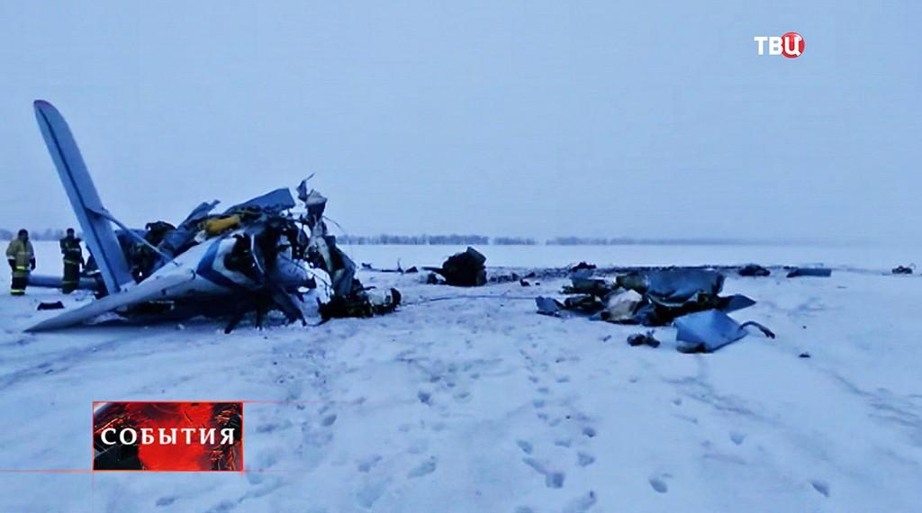 На месте крушения самолета Ан-2