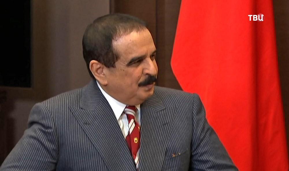 Король Бахрейна Хамад бен Ис Аль Халиф