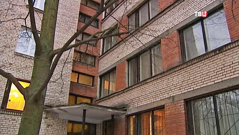 Место убийства актрисы Александры Завьяловой