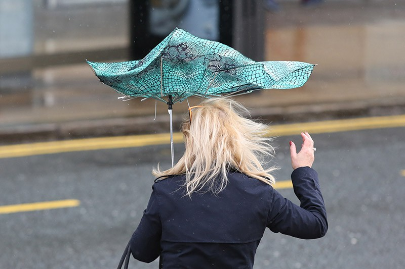 Ураган в Великобритании