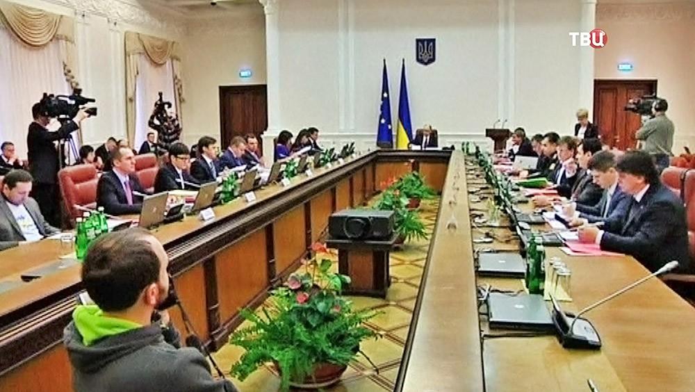 Заседание правительства Украины