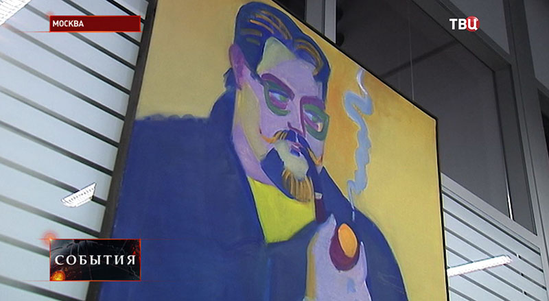 Выставка художника Ильи Комова