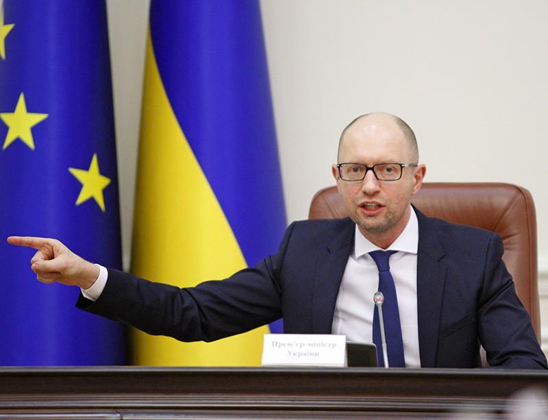 Премьер-министр Украины Арсений Яценюк