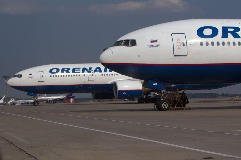 "Boeing 777 авиакомпании ""Оренбургские авиалинии"" (Orenair)"