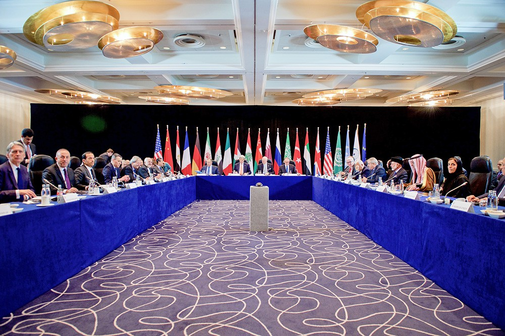 Совещание международной группы по Сирии в Мюнхене