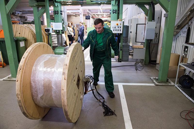 Открытие производственных линий на предприятии «Москабельмет»