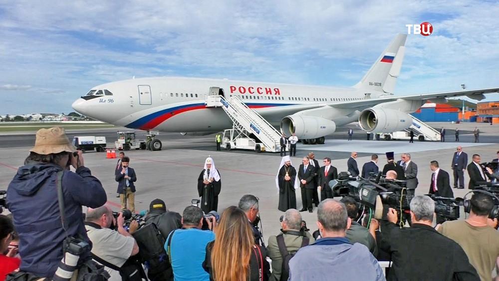 Патриарх Московский и всея Руси Кирилл прибыл в Гавану