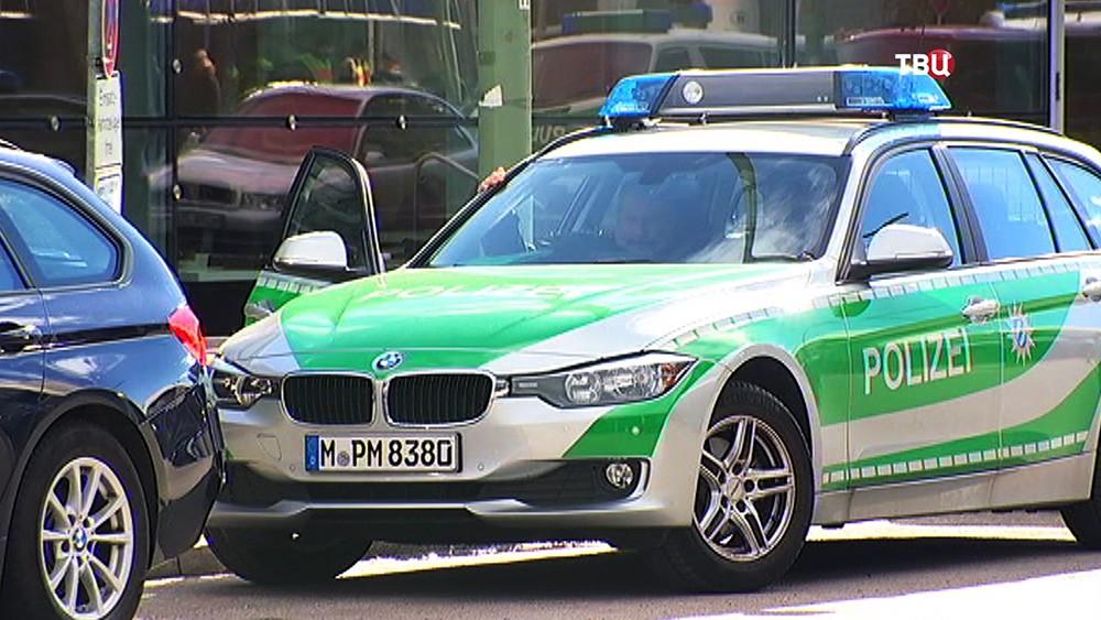 Машина полиции Германии