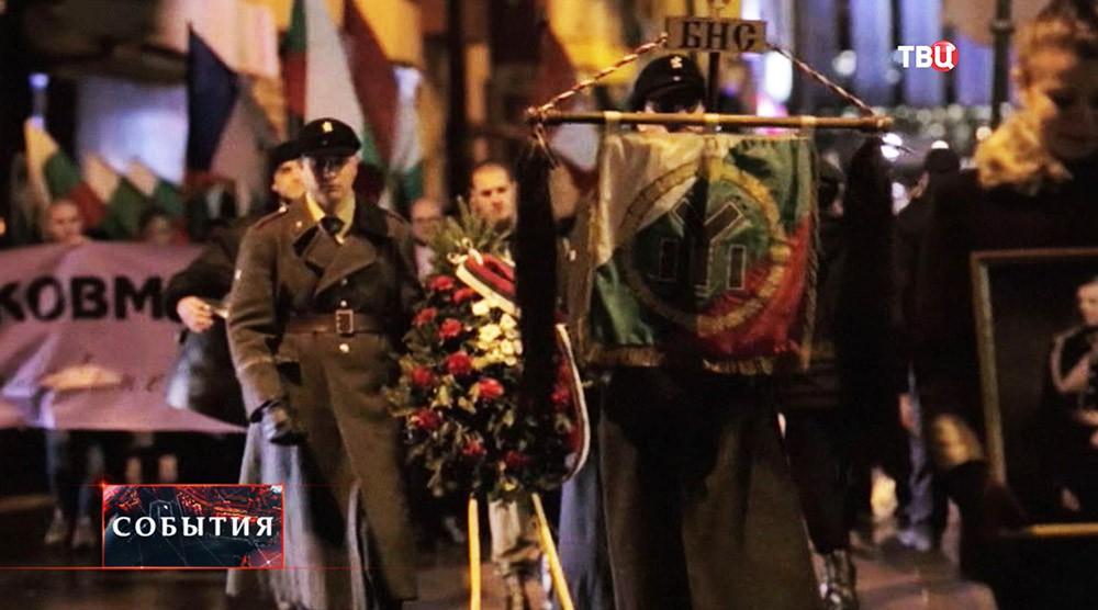 Факельное шествие в Болгарии