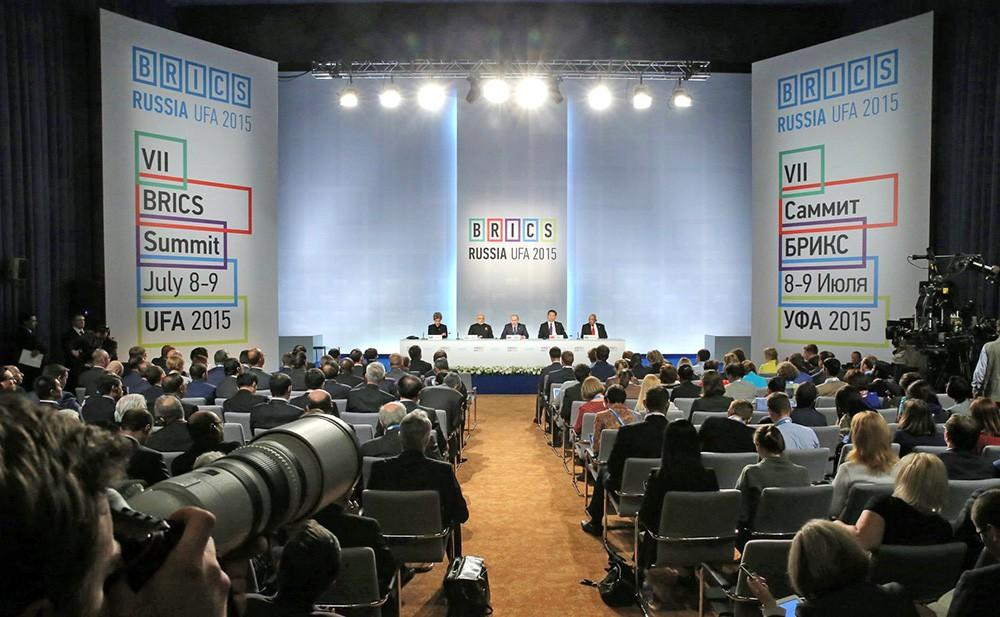 Заявление для прессы по завершении саммита БРИКС
