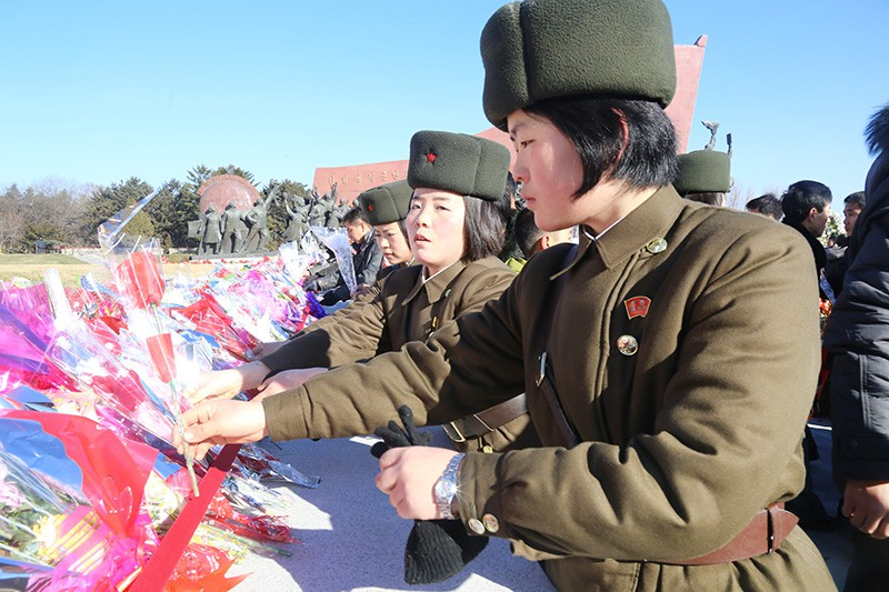 Праздник в КНДР