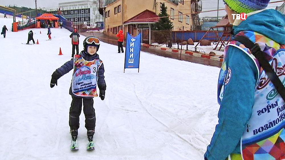 """Лыжные соревнования """"Всероссийские старты мечты"""""""