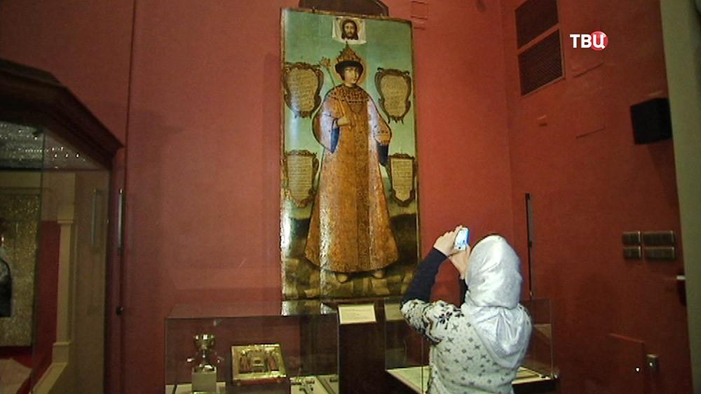 Выставка православных икон в Историческом музее