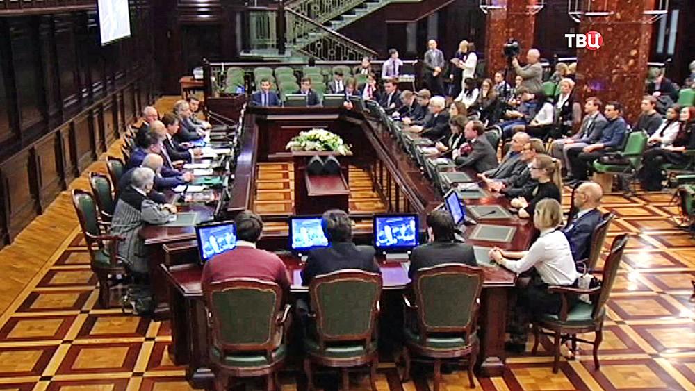Заседание оргкомитета Всемирного фестиваля молодежи