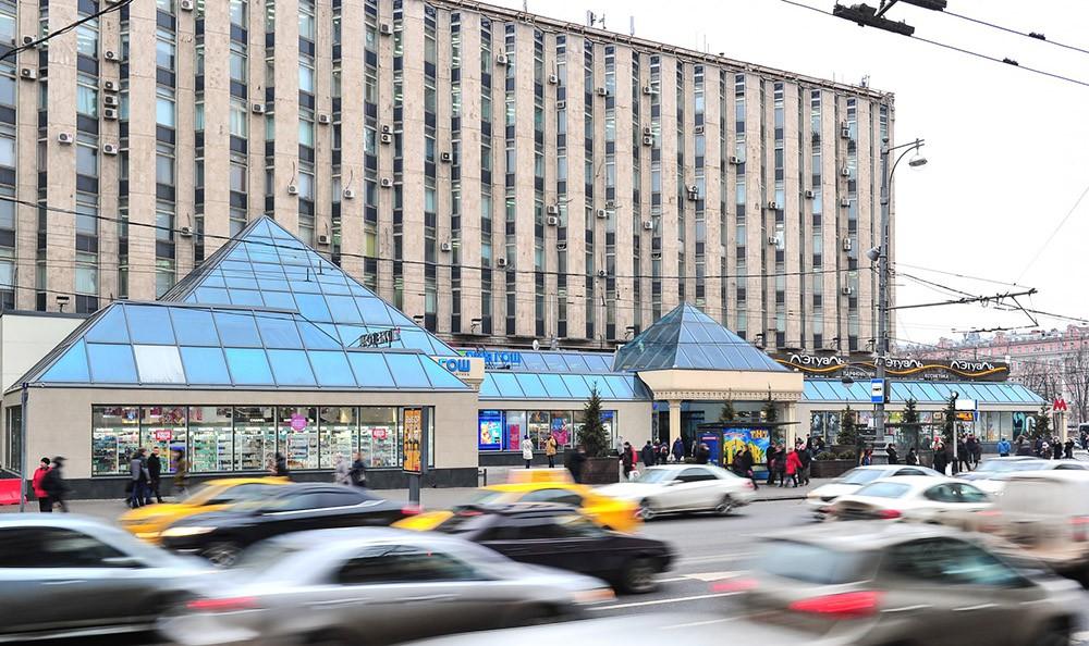 """Торговый центр """"Пирамида"""" на Тверской улице"""