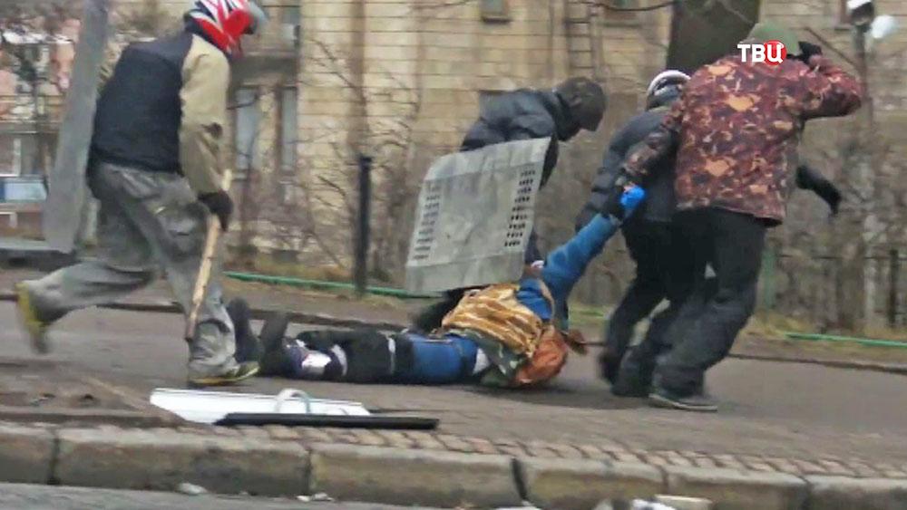 Стрельба во время протестов на Украине