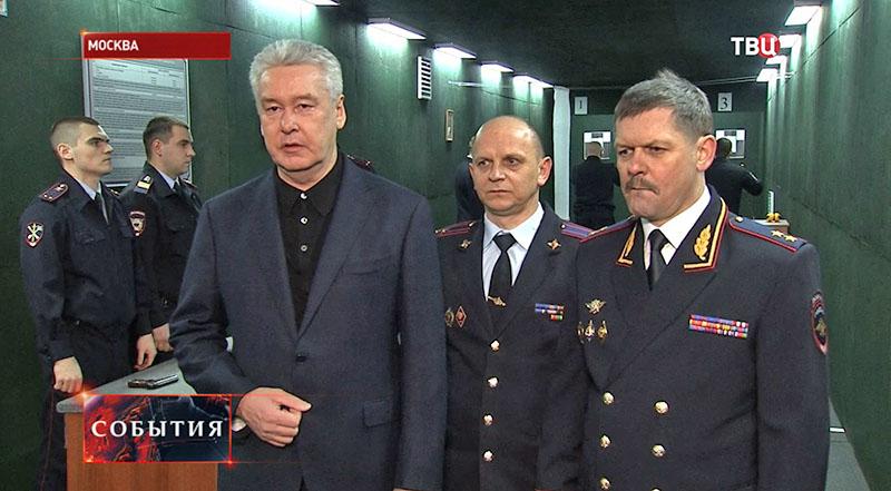 Сергей Собянин райотделе полиции