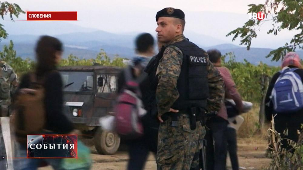 Полиция Словении