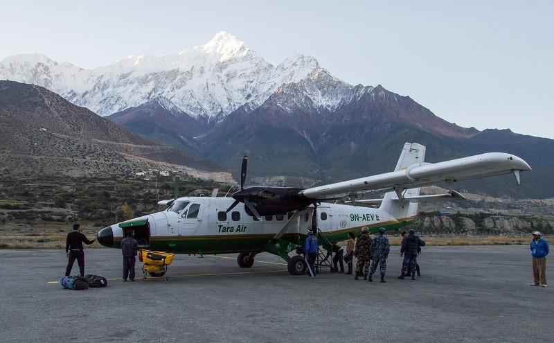 Самолет Twin Otter авиакомпании Tara Air