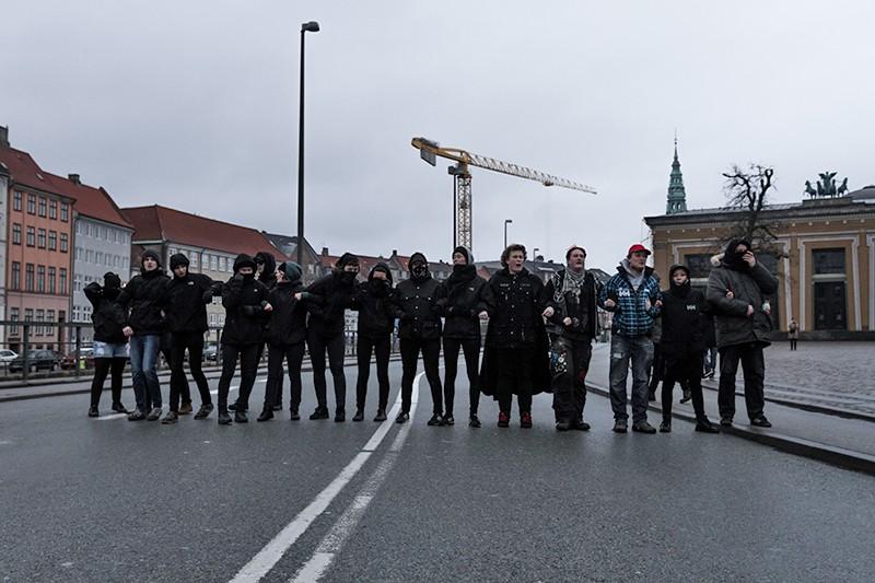 Группа анархистов