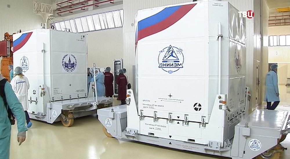Контейнеры для транспортировки спутника