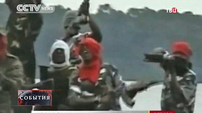 Пираты в Нигерии