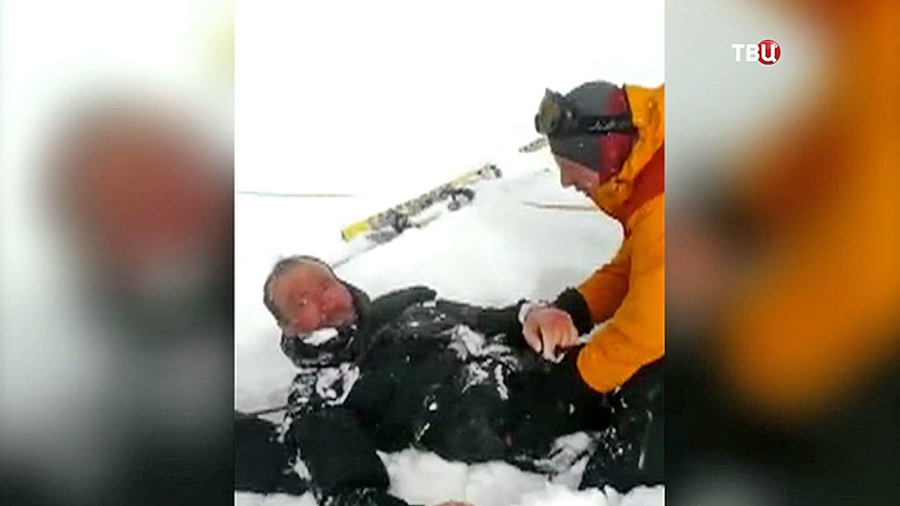 Спасательная операция на Эльбрусе
