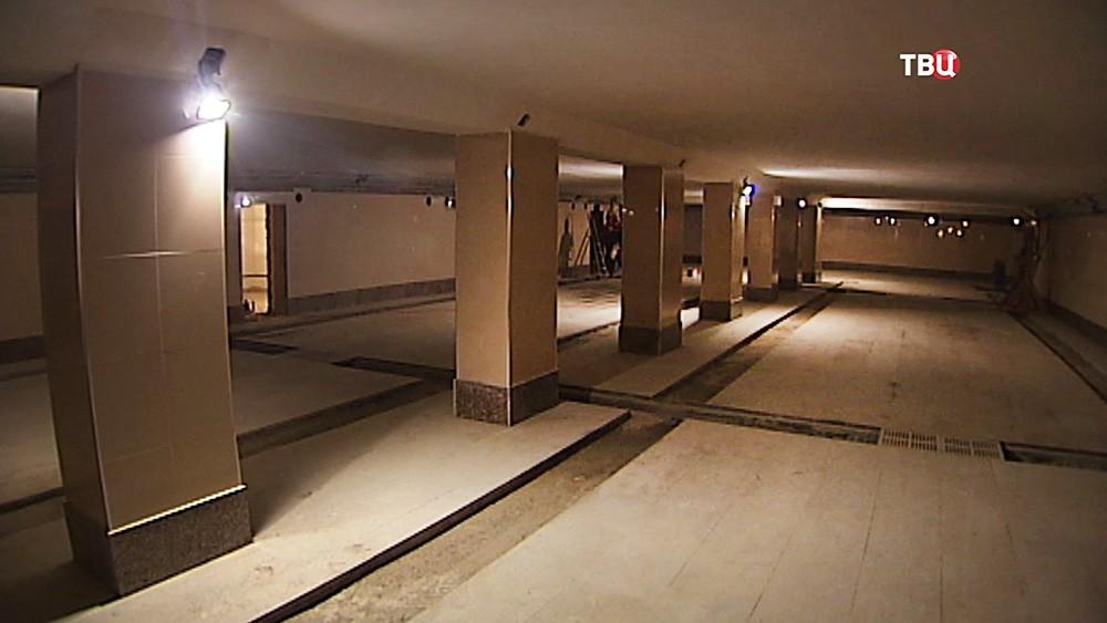 Ремонт подземного перехода