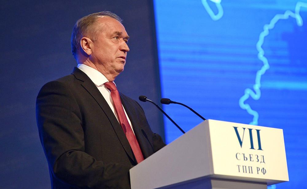 Президент Торгово-промышленной палаты Сергей Катырин