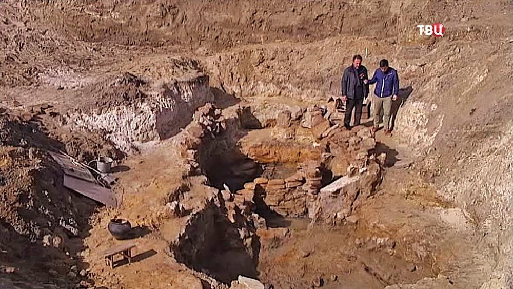 Археологические раскопки в Краснодарском крае