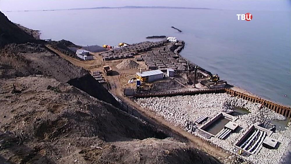 Строительство энергомоста в Крым