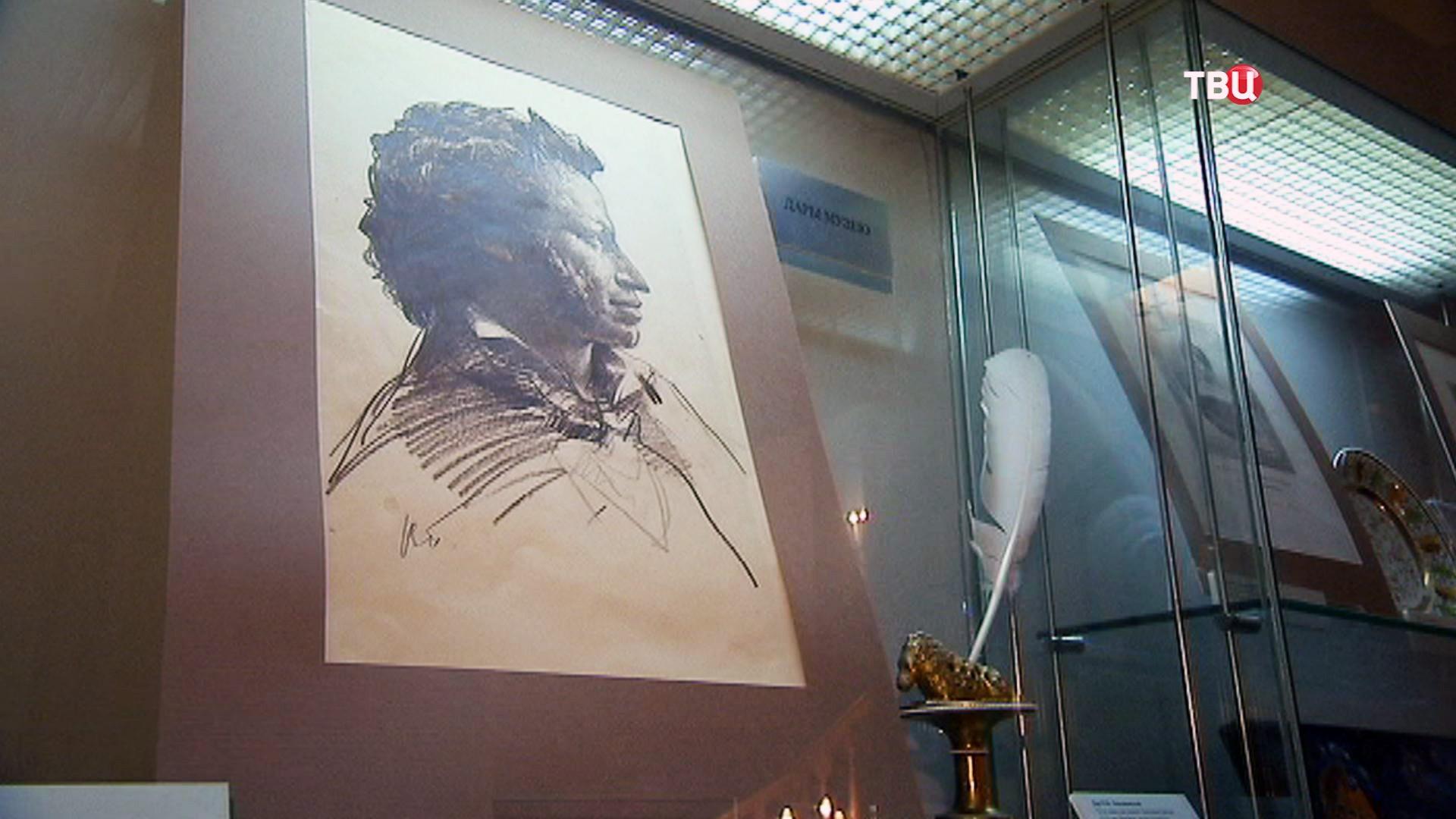 Экспонаты музея Пушкина на Арбате