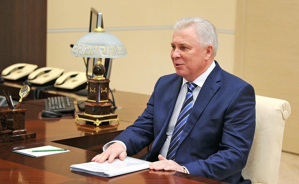 Глава Республики Бурятия Вячеслав Наговицын
