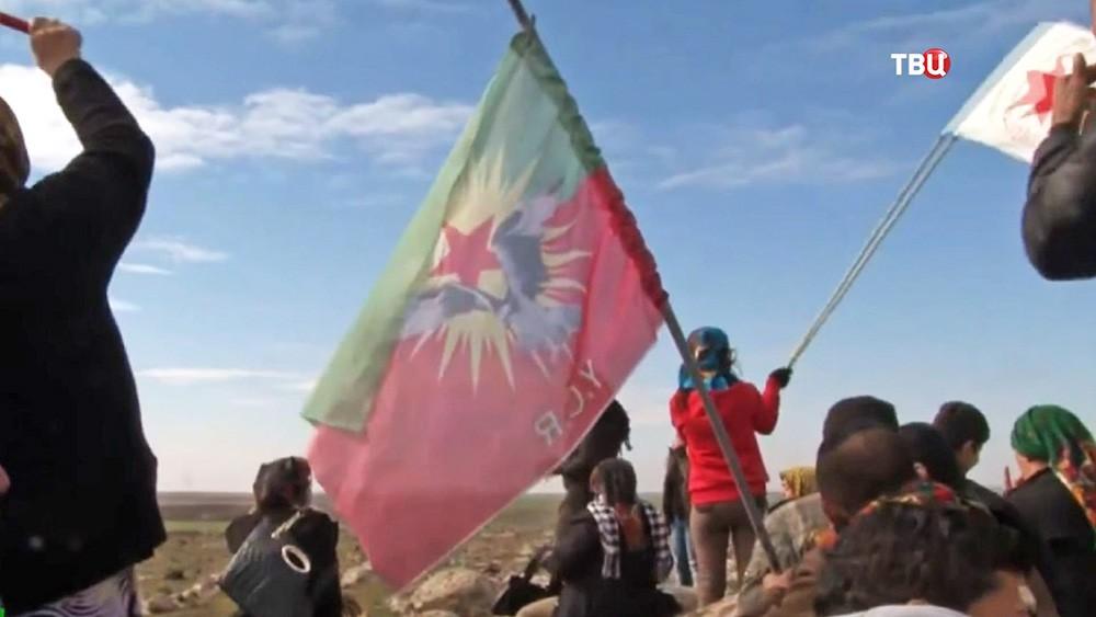 Курдские флаги