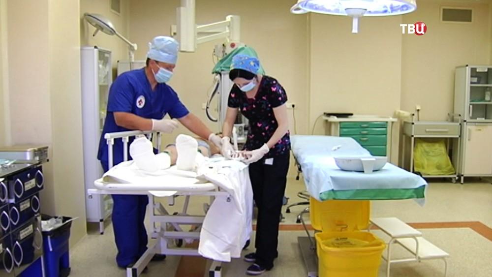 Операционная в детской больнице