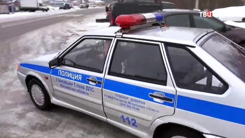 Автомобиль ДПС Московской области