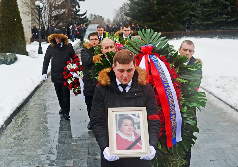 Церемония прощания с заслуженной артисткой России Натальей Крачковской