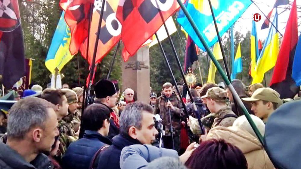 Марш нацоналистов на Украине