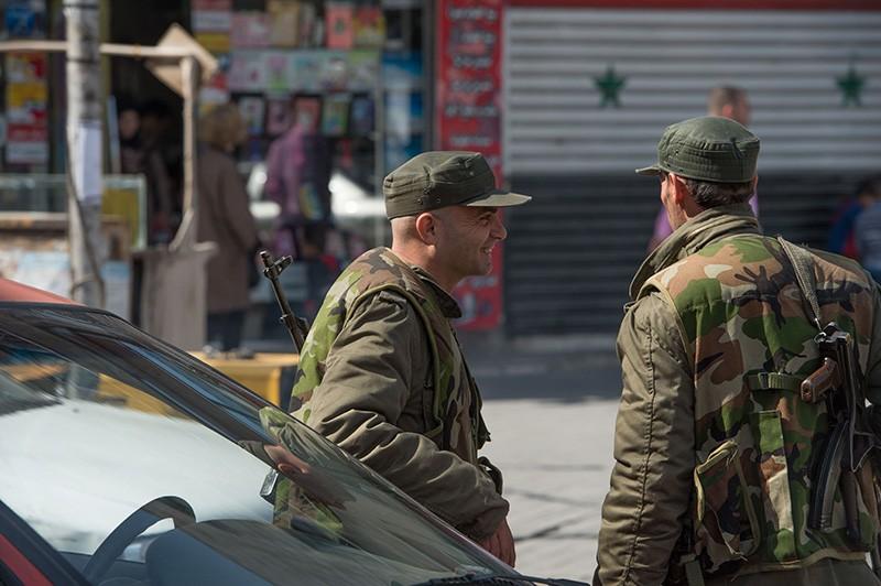 Военнослужащие сирийской армии