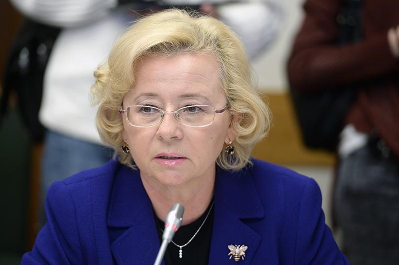 Заместитель министра спорта России Наталья Паршикова