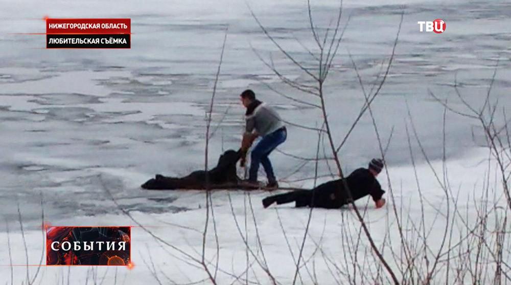 Спасение утопающих в Нижегородской области