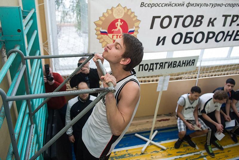 Сдача нормативов ГТО