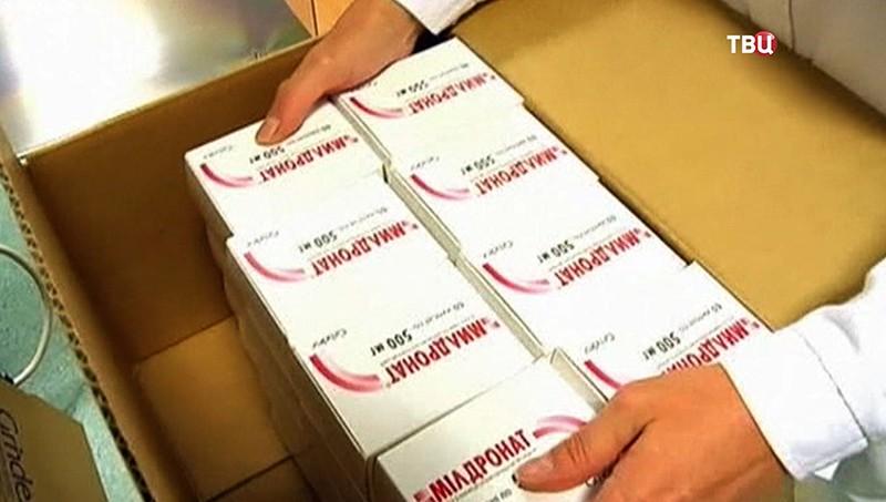 Упаковка медицинских препаратов